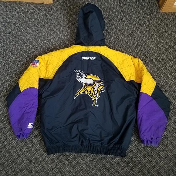 finest selection e4285 280b6 Vintage Minnesota Vikings Starter Winter Jacket M